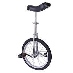 18 Inch Mountain Bike Wheel Unicycle with Quick Release Adju