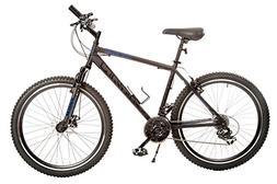 "18"" Titan Dark Knight Men's Mountain Bike, Matte Black"