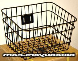 "Fito Full Size Wire Mounting Basket, Black, 14.5""X12""X9.5"","