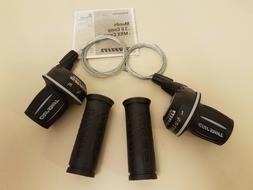 SRAM MRX Comp Bicycle Twist Shifter Set