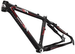 PZ Racing MT2.1FM Bike Frame, 19-Inch, Shiny Black