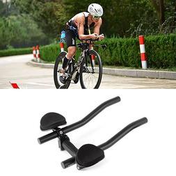 MTB Bicycle Cycling TT Arm Rest Bar Relax Aerobar Handlebars