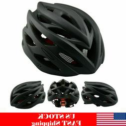 MTB Bicycle Helmet with Tail Light Adult Cycling Bike Safety
