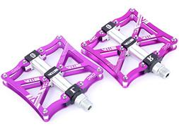 Alston MTB High Performance Bike Pedals, Injection Magnesium