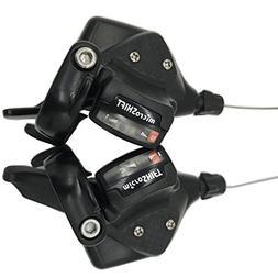 microSHIFT MTB Triple 3 x 9 Speed Shift Levers TS70-9 Shifte