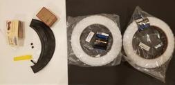 "Sunlite MX3 BMX Tires, 12.5"" x 2.25"", White/White, WITH inne"