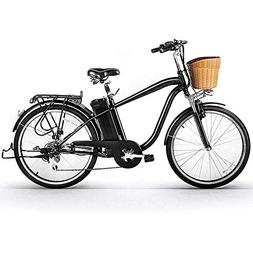 """NAKTO 26"""" City Electric Bicycle and Assisted Bicycle for Men"""
