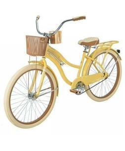 Huffy Nel Lusso 26 inch Cruiser Bike - Yellow FREE SHIPPING
