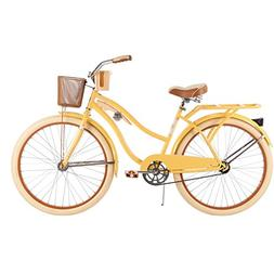 "26"" Huffy Nel Lusso Women's Cruiser Bike, Banana-Yellow"