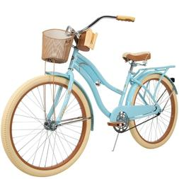 Huffy Nel Lusso Classic Cruiser Bike with Perfect Fit Frame,