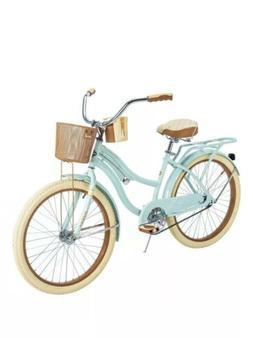 Huffy Nel Lusso Women's Cruiser Bike Mint Green 24 Inch 5457