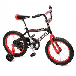 "NEW 16"" Steel Frame Children BMX Kids Bike Bicycle With Trai"