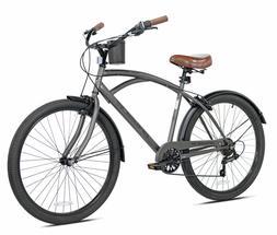 "NEW 26"" Men's Kent Bayside 7 Speed Bicycle Shimano Steel Fra"