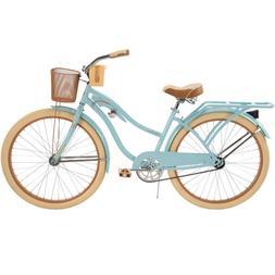 """NEW 26"""" Huffy Nel Lusso vintage Women's Cruiser Bike Gloss B"""