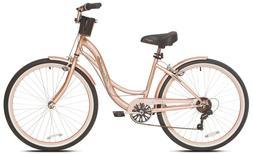 "NEW 26"" Women's Kent Bayside 7 Speed Bicycle Shimano Steel F"