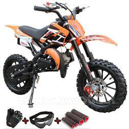 49cc 50cc 2-Stroke Gas Power Mini Pocket Dirt Bike Off Road