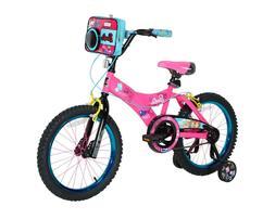 "NEW Barbie GIRLS Dynacraft Bike, Pink, 18"". Hand brakes, Whe"