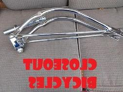 "26/"" Lowrider Bent Bike Spring  Fork 1/"" Chrome-153844"