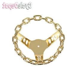 NEW! Lowrider Bicycle Chain Steering Wheel Gold Cruisers & C