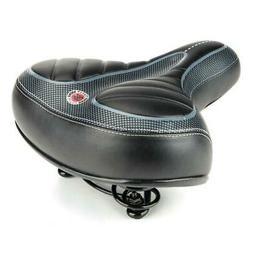 New Bicycle Saddles Comfort Seat Wide Big Bum Gel Pad Bike R