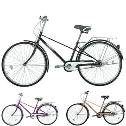 New FLYING PIGEON Carbon Steel Bike 26-inch Bicycle Women Me