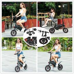 """Foldable 12"""" Electric Bike 36V 350W Electric Bicycle Ebike U"""