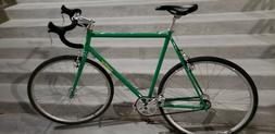 New, fun green single speed cyclocross fixed gear or commute