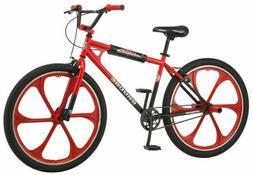 NEW Mongoose Grudge Mag BMX Freestyle Bike 26-Inch MAG Wheel