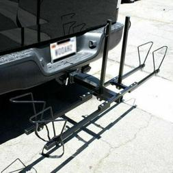 """New Heavy Duty 2 Bike Bicycle 2"""" Hitch Mount Carrier Platfor"""