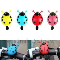 NEW Kids Bike Bell Bicycle Boys Girls Novelty Ladybird Bug D