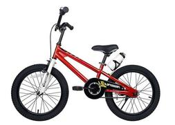 New Royalbaby Kids Freestyle Bicycle, Red, 18-Inch tires