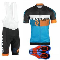 New Men Cycling Jersey bib shorts suit Mtb Bicycle Clothing