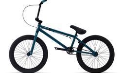 "New Redline Romp BMX bike complete green blue 20"""