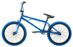 NEW Mongoose Rive 20-inch Boys BMX Freestyle Bike with 4 Peg