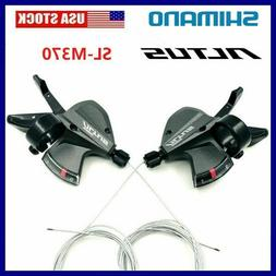 NEW Shimano Altus SL-M370 3x9 27 Speed MTB Bike Shifters Lev