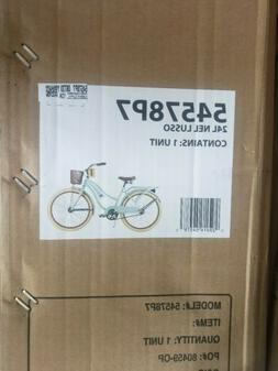 *NEW SHIPS ASAP* Huffy Nel Lusso 24 inch Cruiser Bike - Mint