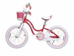 NEW Royalbaby Stargirl Girl's Bike, 18 inch Wheels, Pink