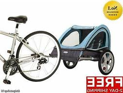 NEW INSTEP TAKE 2 DOUBLE BICYCLE BIKE KIDS BABY PET TRAILER