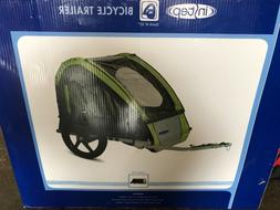 NEW InStep Take 2 Double Bicycle Trailer Quick N EZ Green