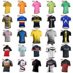 New Team Cycling Jersey 2019 Men Bike Quick Dry Short Sleeve