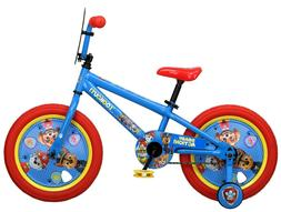 Nickelodeon 16 inch Paw Patrol All Character Kids Bike with