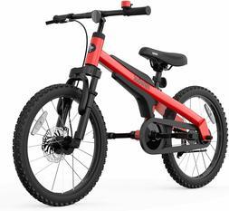 Red Segway Ninebot Kids Bike Boys Girls Fat Tire Bike 18 inc