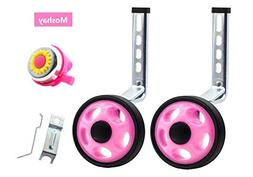 MOSHAY Noctilucent Training Wheels for 14 16 18 20Inch