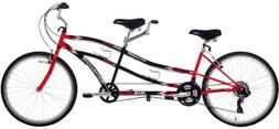 Northwoods Tandem Bike - Dual Drive 21-Speed - 26''