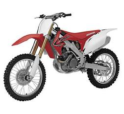 New Ray NR57463 2012 Honda CR 250R Red Motorcycle Model 1/12