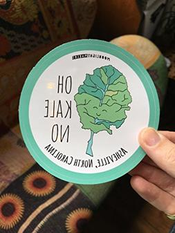 Oh Kale No Sticker, Bumper Sticker, Car Sticker, Vinyl, Bike