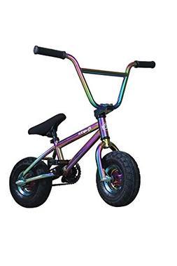R4 Oil Slick Neo Chrome Complete Pro Mini Bmx Bicycle Trick