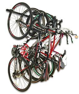Omni Bike Storage Rack - Holds 5 Bicycles - Home & Garage Ad