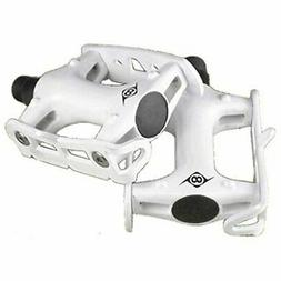 Origin8 Pro Track Light Fixed Gear White Bike Pedals