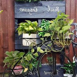Outdoor Indoor Tricycle Plant Stand 3 Tiers Round Basket Flo